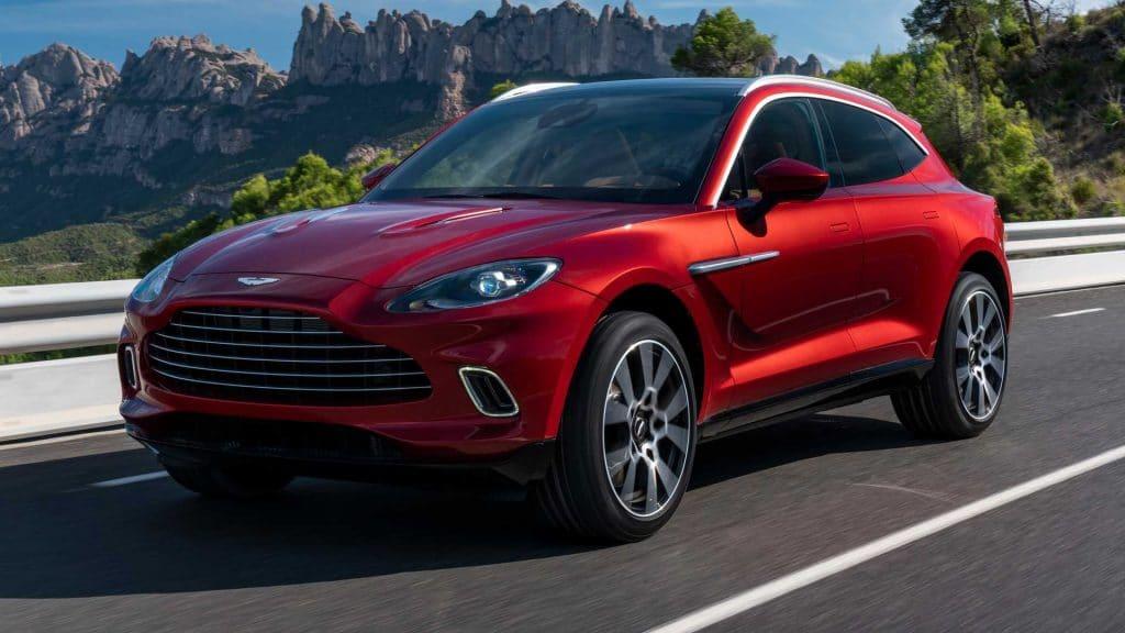 Aston Martin DBX 2021: specifikace, cena, datum uvedení na trh