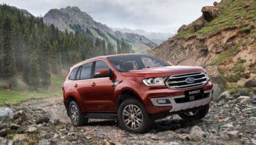 Ford Everest 2021: specifikace, cena, datum uvedení na trh