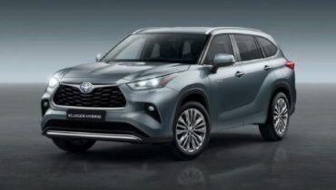 Toyota Kluger Hybrid 2021: specifikace, cena, datum vydání