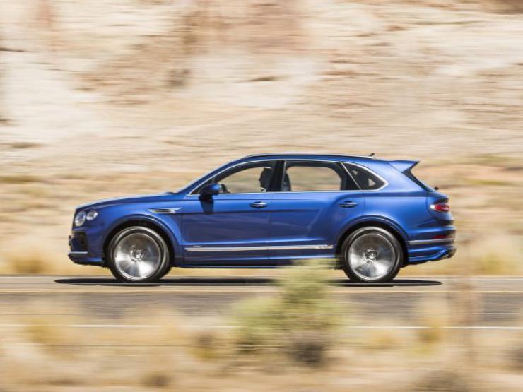 Bentley Bentayga Speed 2021: specifikace, cena, datum vydání