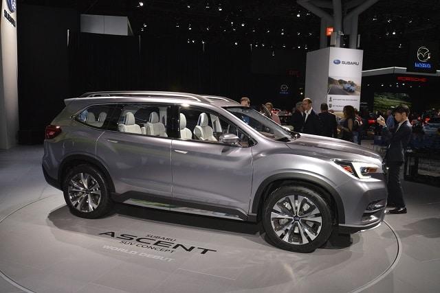 Subaru Ascent 2022: specifikace, cena, datum vydání