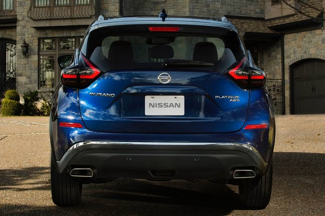 Nissan Murano 2022: specifikace, cena, datum vydání