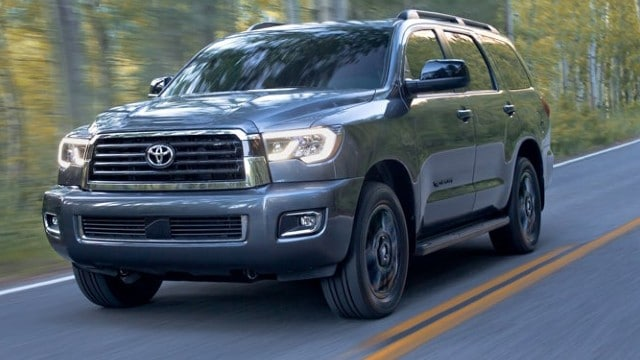 Toyota Sequoia 2021: specifikace, cena, datum vydání
