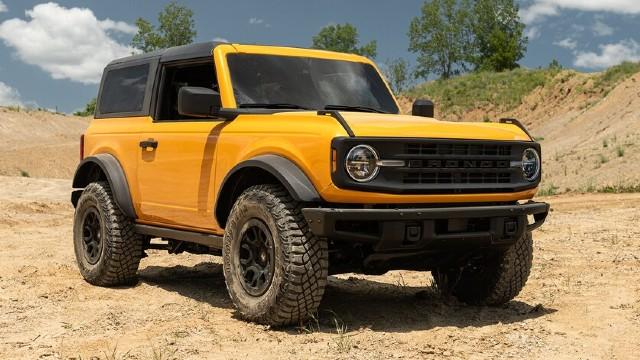 Ford Bronco 2022: specifikace, cena, datum vydání